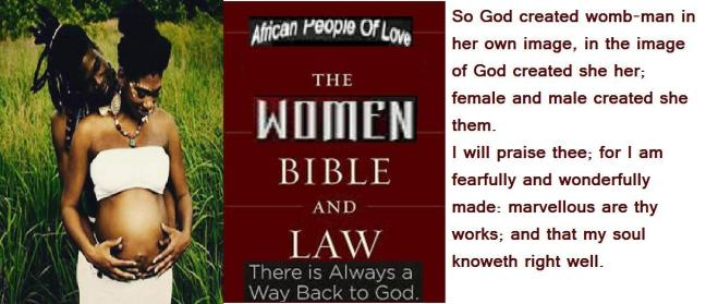 the african people of love women bible and the law