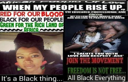 African people of love join the movement