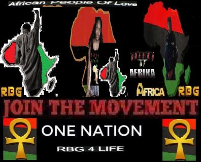 Fist up in honor of Mother Afrika