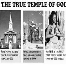 the true temple of God